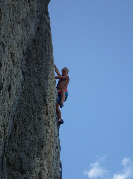 Will on Makash Walou 7c+